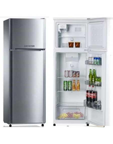 frigo 2p 300l no frost a silver. Black Bedroom Furniture Sets. Home Design Ideas