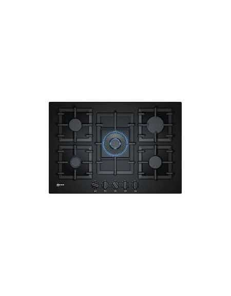 TABLE 4GAZ WOK FLAMESELECT VERRE NOIR 75