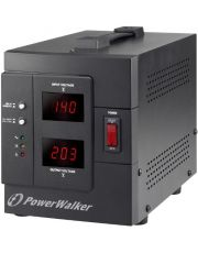 POWER WALKER AVR 1500 SIV * REGULATEUR DE TENSION 1200W +LCD