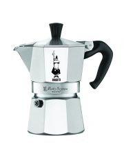 Cafetiere 3 Tasses Moka Express Aluminium