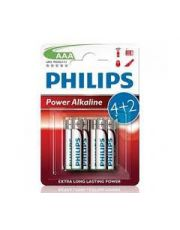PHILIPS PILES 4LR03 AAA+2BLIST