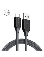 Cable tress? USB2.0 -Micro USB charge & synchronise silver 1.8m