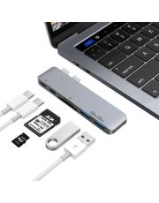 Adaptateur USB-C vers USB3.0/SD+charge USB Type-C (M) vers 2x USB Typ