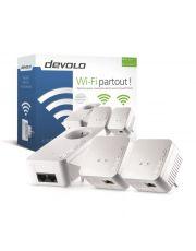 DEVOLO 9639 - dLAN 550 WiFi - KIT(X3)- Blanc CPL Network Kit (x3)