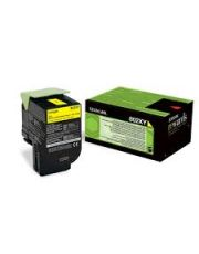 802XY CX510 Cartouche de toner Return Program Jaune trs haute capacite (4K) 4 000 pages CX510de / CX510de Statoil / CX510dhe /