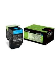 802HCE CX410, CX510 Cartouche de toner Corporate Cyan haute capacite (3K) 3 000 pages CX410de / CX410de DSV EG / CX410de with 3