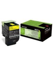 802Y CXx10 Cartouche de toner Return Program Jaune (1K) 1 000 pages CX310dn / CX310n / CX410de / CX410de DSV EG / CX410de with 3