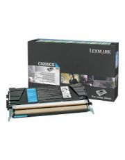 C522, C524, C53x Cartouche de toner Return Program Cyan (3K) 3 000 pages C522n / C524 / C524dn / C524dtn / C524n / C530dn / C532