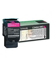 C54x, X54x Cartouche de toner Return Program Magenta (1K) 1 000 pages C540n / C543dn / C544dn / C544dtn / C544dw / C544n / C546d