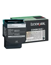 C54x, X54x Cartouche de toner Return Program Noir haute capacite (2,5K) 2 500 pages C540n / C543dn / C544dn / C544dtn / C544dw /