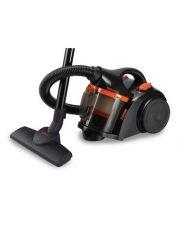 Aspirateur sans sac N Puissance 700W - Centrifuge Multi embouts - Noir et Orange