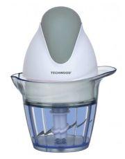 Mini Hachoir 0,6l hachoir amovible blanc/gris lame en acier inoxydable